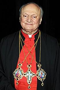 Seine Seligkeit Lucian Kardinal Mureşan Großerzbischof von Făgăraş şi Alba Iulia