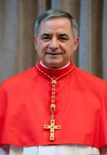 Risultati immagini per foto cardinale becciu